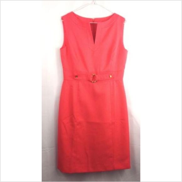 f3b653b2de7a46 Chelsea Rose sleeveless embellished sheath dress 8